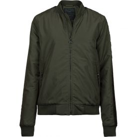 Bomber-Taped ladies - army green